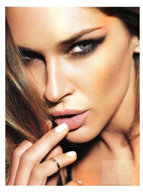 sultry smoky eye: Faces, Erin Wasson, Style, Makeup, Lips, Beauty, Smokey Eye, Eyes