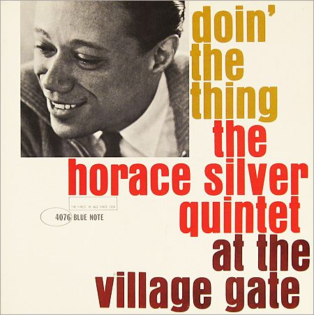 Horace Silver, Blue Note 4076