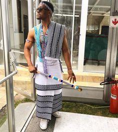 Xhosa man traditional attire