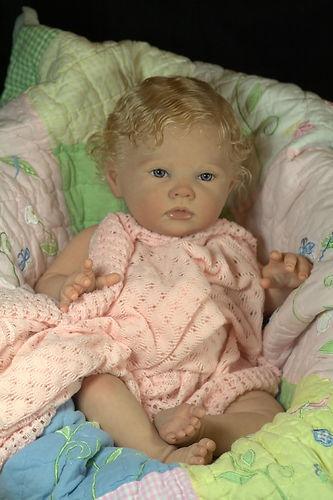 Reborn Baby Girl Doll Romie Strydom's Porsha now Baby Olivia Ed! 117/800 | eBay