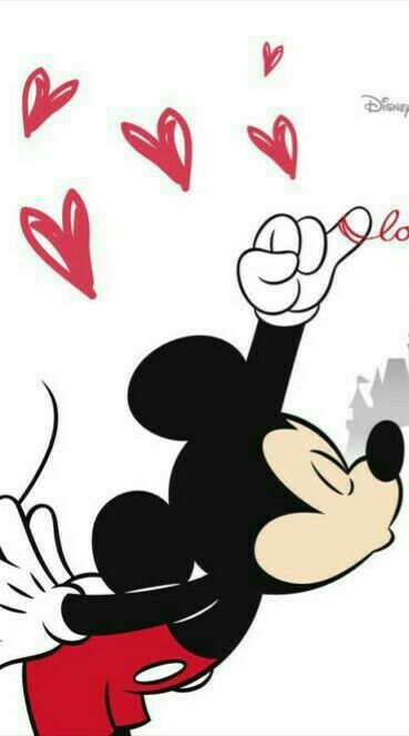 Wallpaper! Minnie e Mickey!