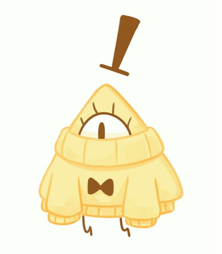 Bill Cipher in a sweater >o<