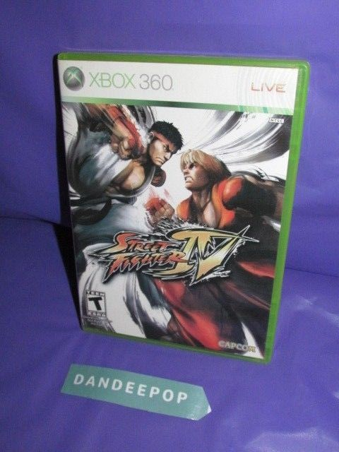 Street Fighter IV (Microsoft Xbox 360, 2009) Video Game #streetfighterIV #videogame #xbox #xboxlive #dandeepop Find me at dandeepop.com