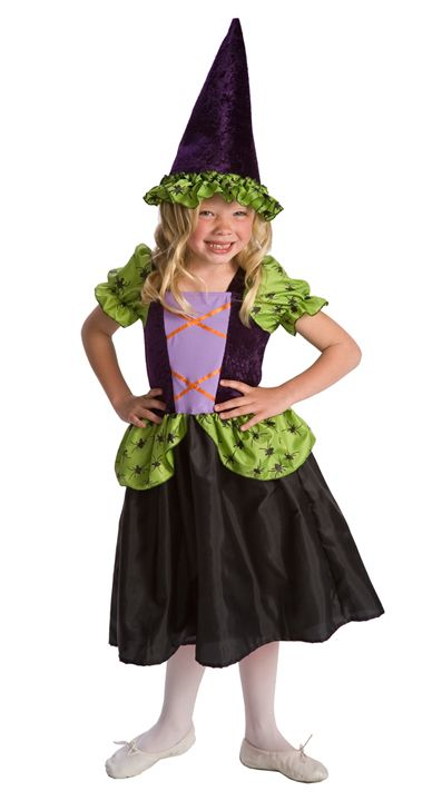 simply spooky girlu0027s witch halloween dress up costume sale fits most 39 years old