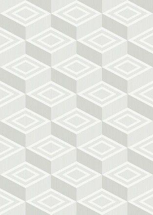 Обои флизелиновые цвет белый, серый 51007 ZN современный