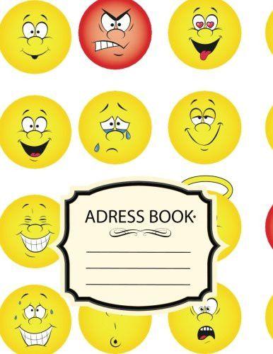 Address Book: Emoji :Name Email Mobile Home Work Fax Number Birthday: Big Alphabetical Organizer Jou