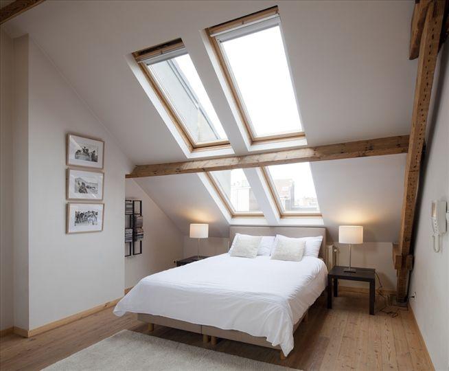 Bed and Breakfast Antwerp: Zolderstudio