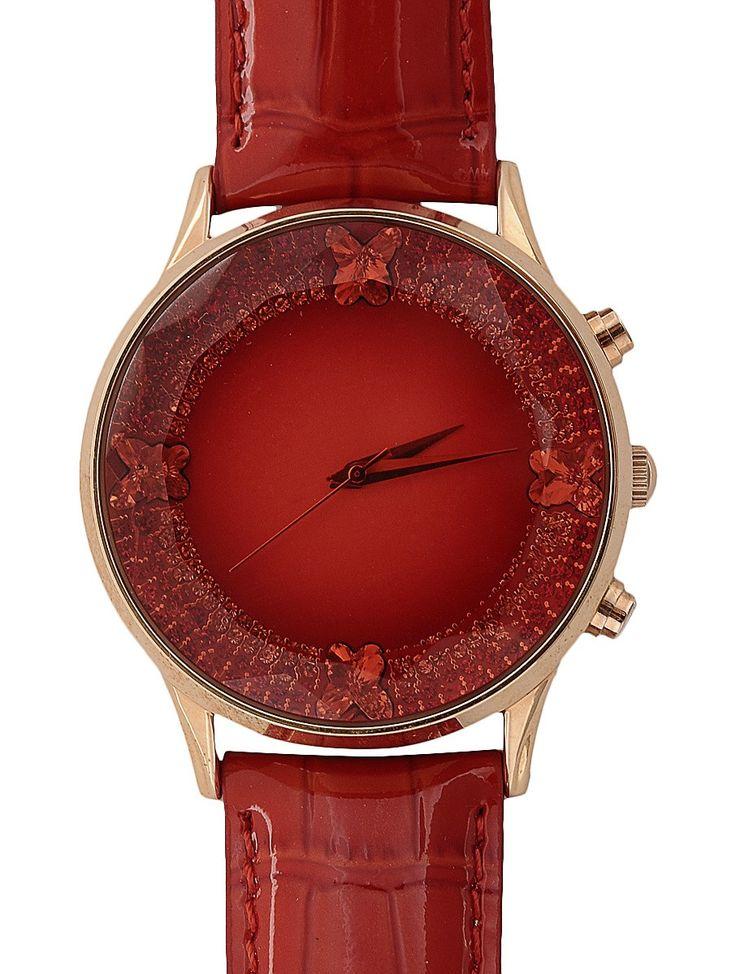 https://www.jaypore.com/red-metallic-brown-bold-big-dial-wrist-watch-stainless-steel-hand-picked-swarovski-crystals-genuine-leather-p87711