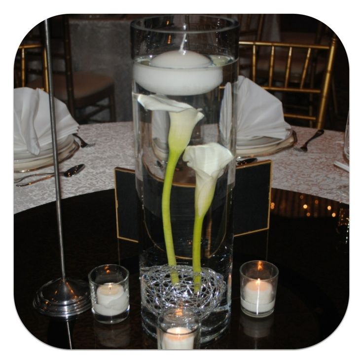 Floating Lily Centerpiece Ideas: 35 Best Wedding Flowers Images On Pinterest
