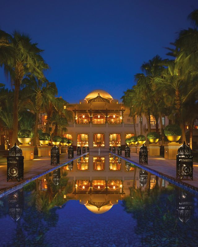 Welcome to paradise - One & Only Royal Mirage, Dubai. Proposed to here very magical