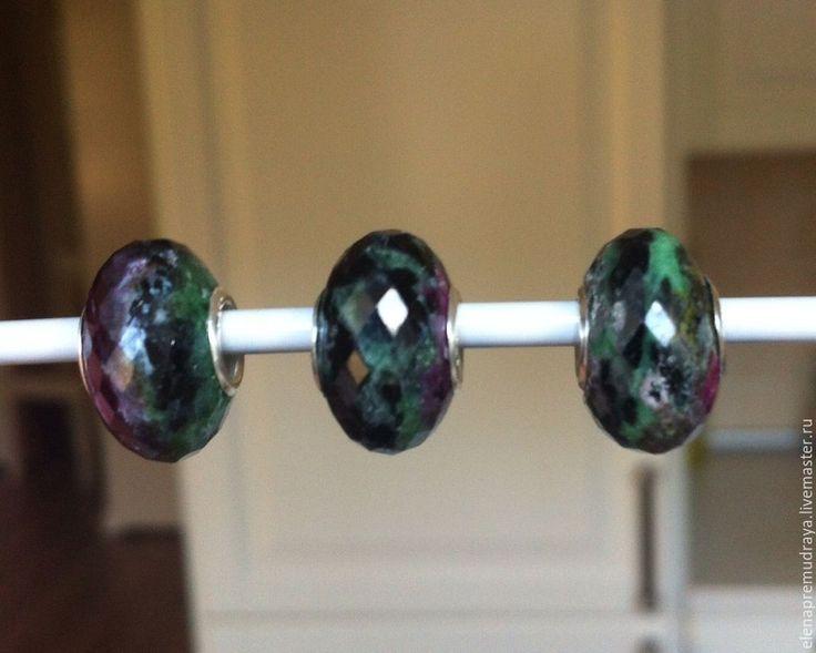 Купить Циозит - натуральный камень для Pandora и Trollbeads - trollbeads, pandora, пандора, тролль, натуральные камни