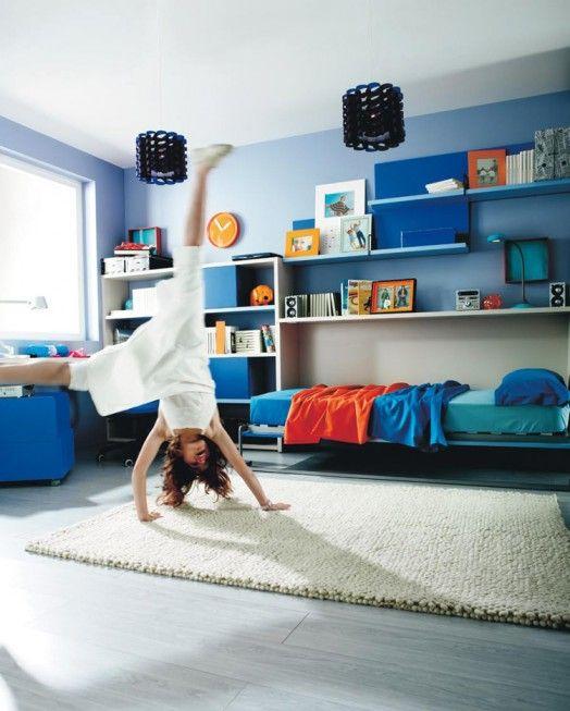 Kinderzimmer Möbel bunte frische Ausstattung für Ihre