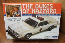 MPC THE DUKES OF HAZARD SHERIFF ROSCO'S POLICE CAR 1/25 SCALE MODEL KIT