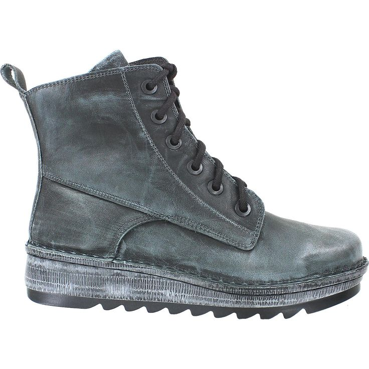 Naot Gazania Vintage Smoke Leather Women's Boot $200 available in 39