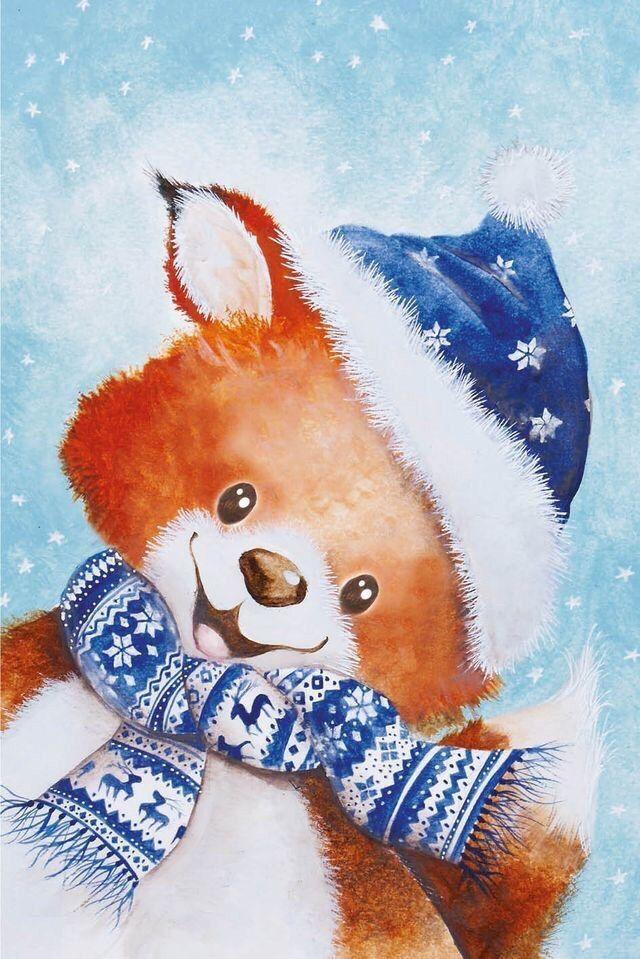 Милые новогодние открытки