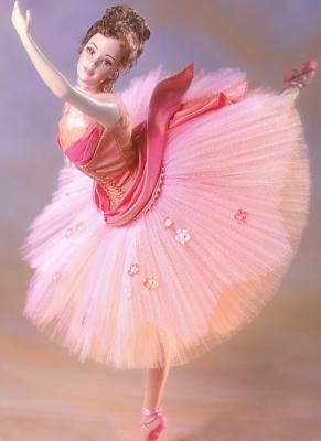 Ballerina.....I always loved Ballerinas and Barbie so a ballerina barbie is just a win win!