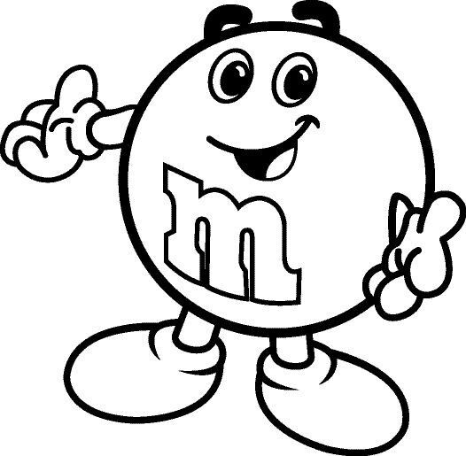 34 best M&M Candies images on Pinterest | Candies, Coloring books ...