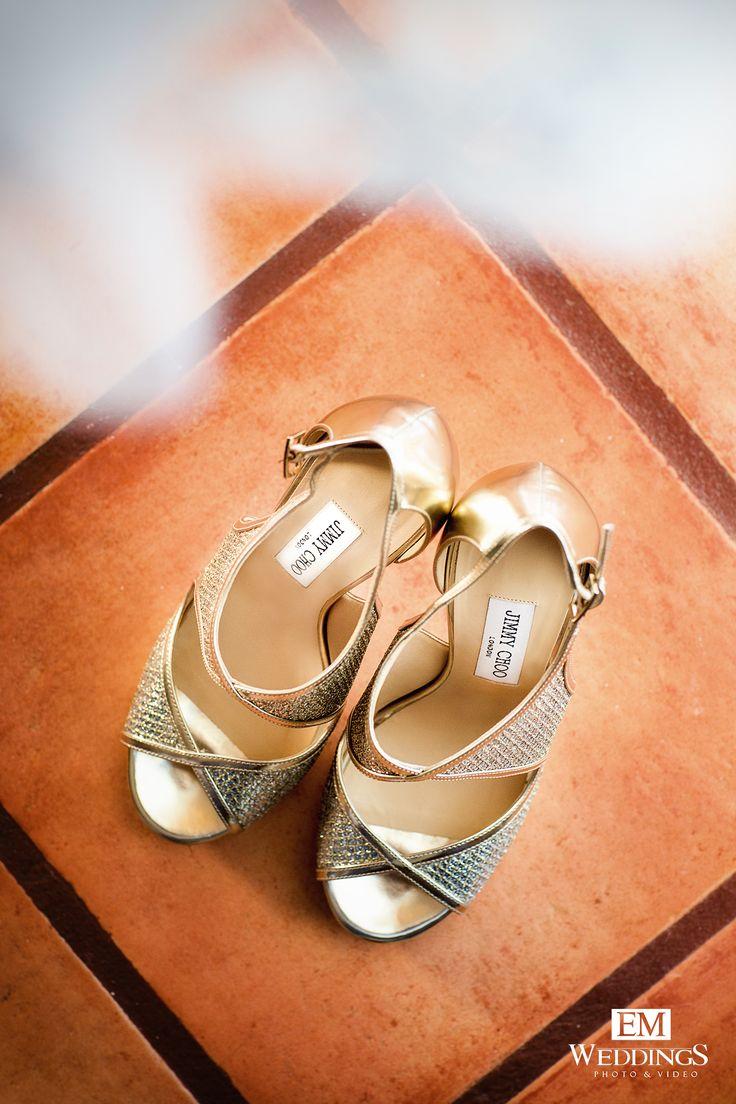 Wedding Shoes Bride.  #jimmychoo #emweddings #destinationweddings