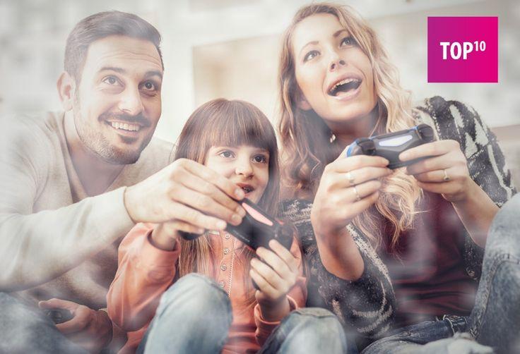 TOP 10 gier, w które możesz zagrać ze swoim dzieckiem