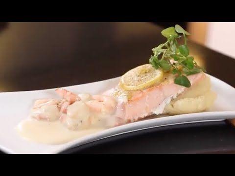 Recetas Nestlé: Salmón al limón con salsa margarita y puré - YouTube
