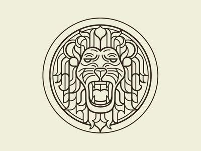 Lion like Versace