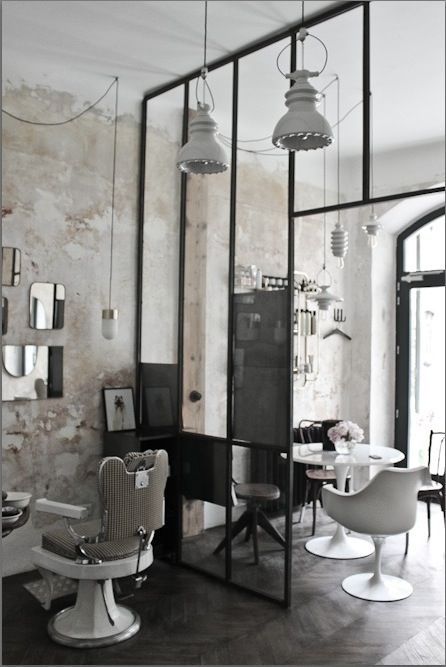 133 best images about glass wall love on pinterest - Location de fauteuil en salon de coiffure ...