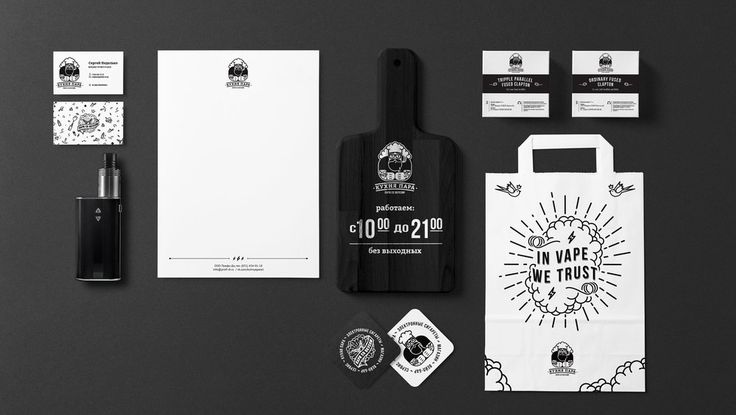 Cloud Kitchen's Inviting Design — The Dieline - Branding & Packaging Design