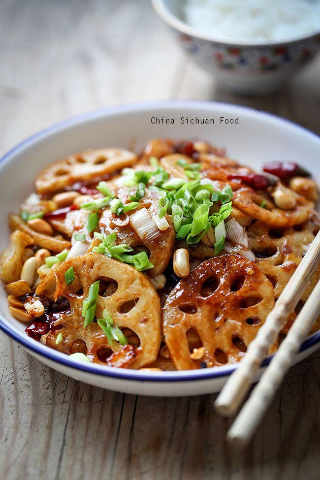 Kung Pao Lotus Root – China Sichuan Food