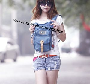 Ransel Import K2-K1010 Warna : Biru Bahan : Kanvas Super IDR215000 085855741030 SMS Only Pin BB By ReQuest Buy Now Or Cry Later ;)