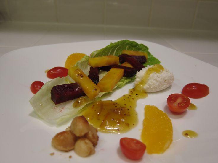 Attempt #2 at beet salad