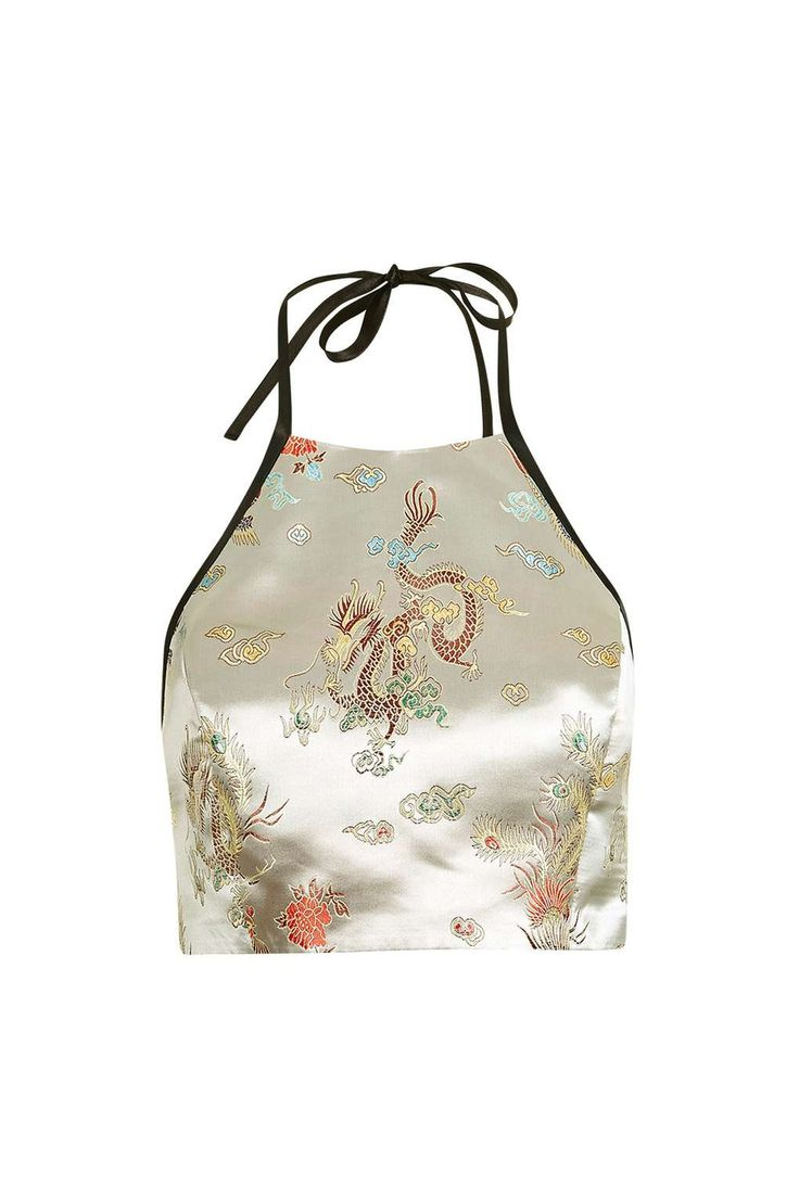 Oriental halter top by Topshop Finds - Tops - Clothing - Topshop USA