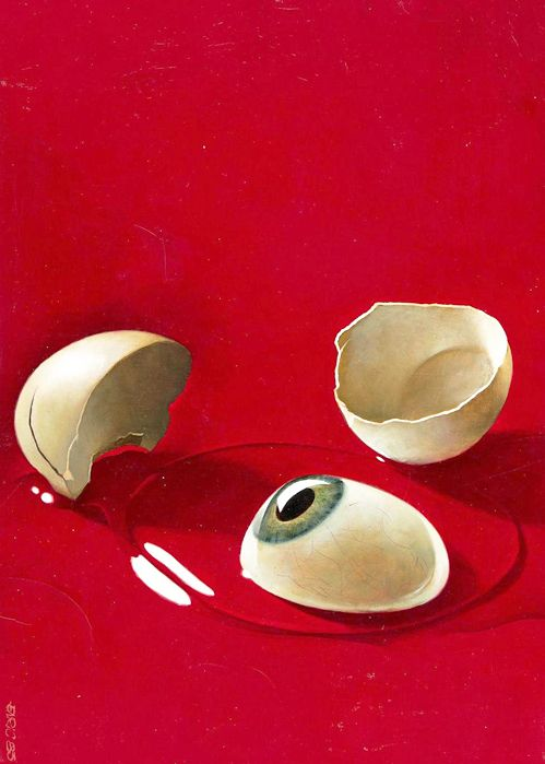 Eye Cracked by Enric Torres