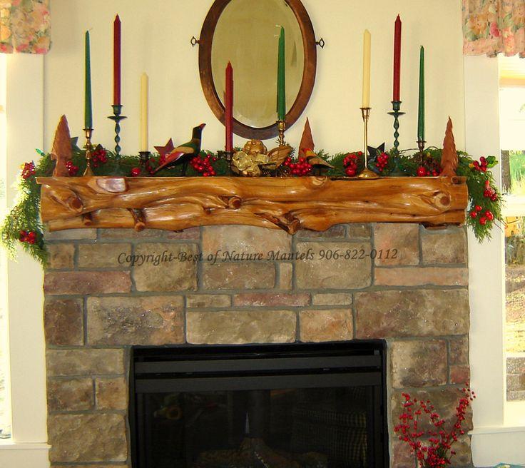 Images of log fireplace mantels | log mantel, log fireplace mantel, rustic  fireplace, - 15 Best Images About Fireplace On Pinterest Rustic Fireplace