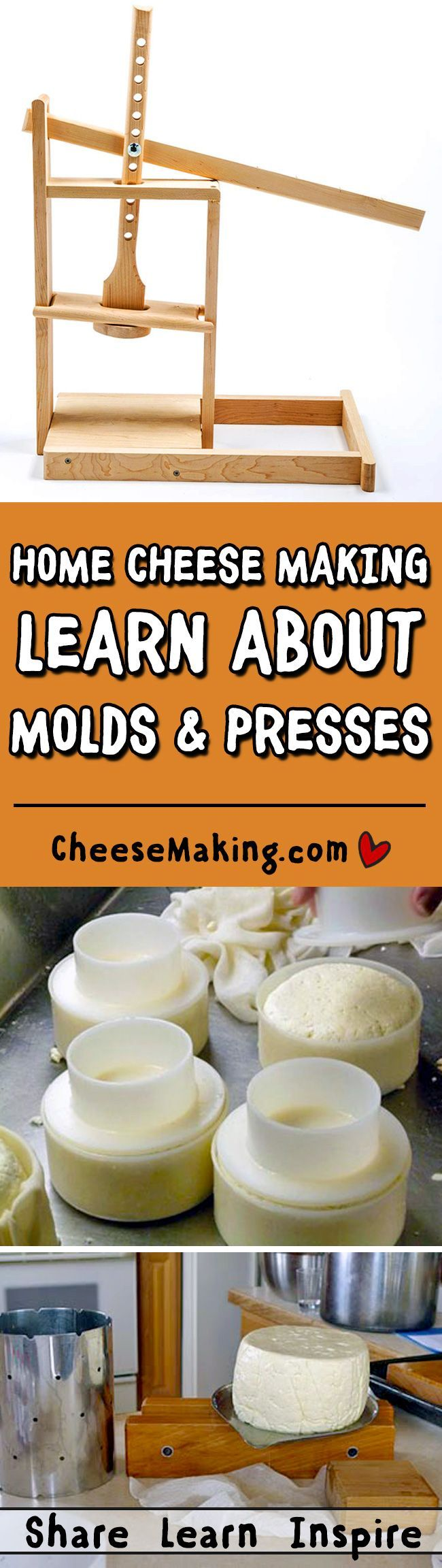 Molding & Pressing Cheese FAQ | How to Make Cheese | http://Cheesemaking.com