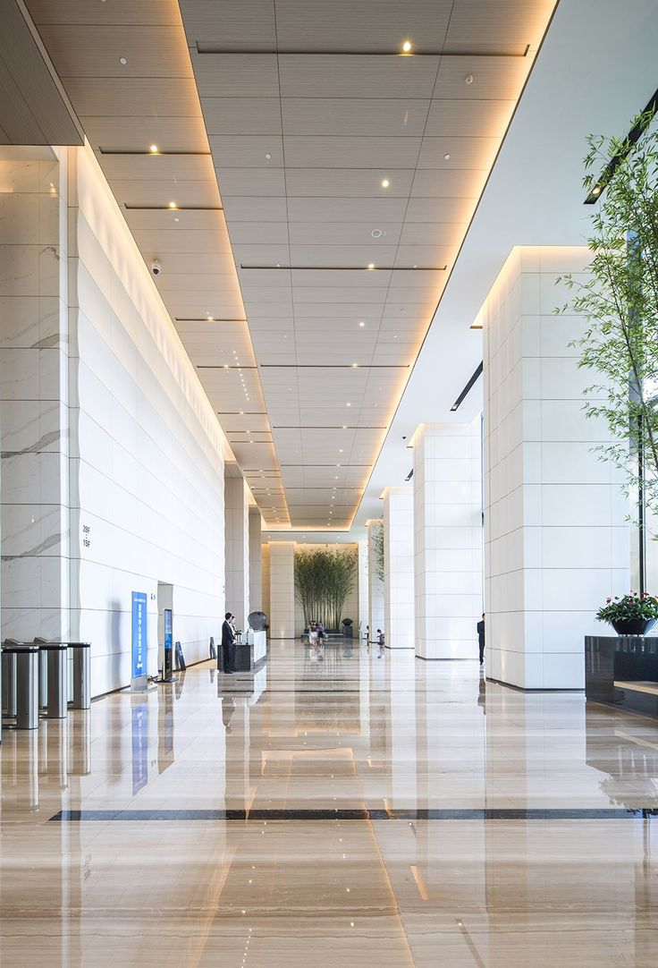 Top 25 best office building lobby ideas on pinterest for Lobby ceiling design