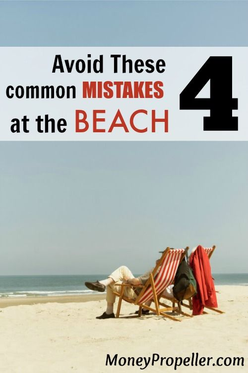Good list of tips to save money on your beach trip.