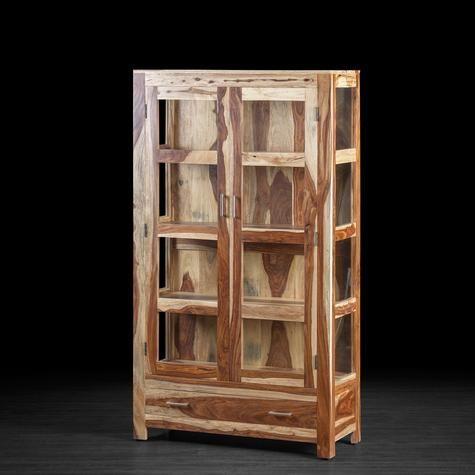 Grand cabinet Romy en bois de rose