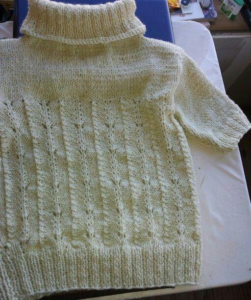 Gina lana de oveja tejido a palillos