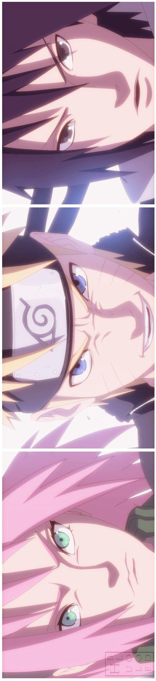 Sasuke Sakura Naruto time 7 ta de volta