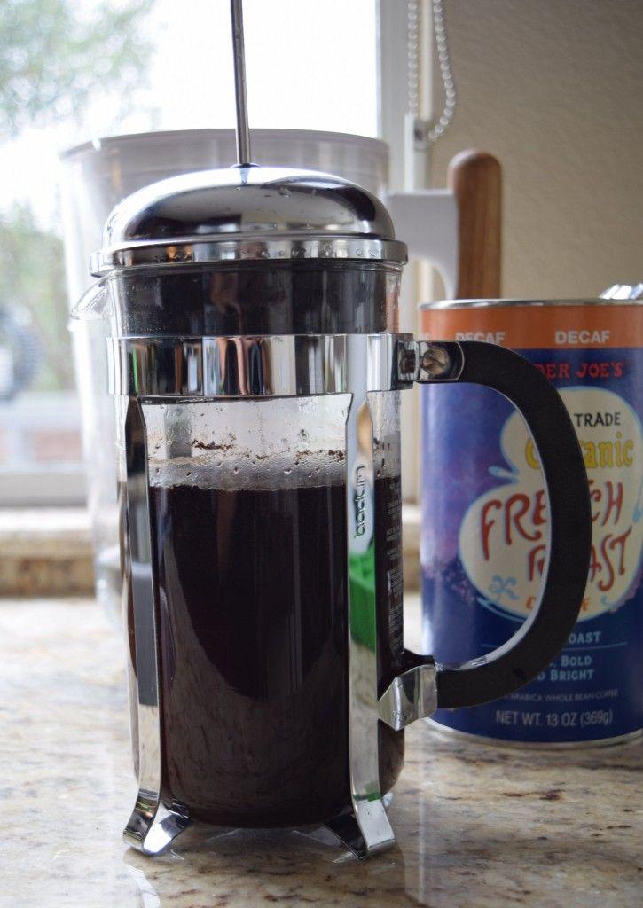 الطبخ إعداد مكعبات القهوة المثلجة لطعم جديد Kitchen Appliances Coffee French Press