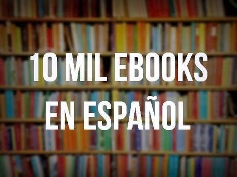 Una biblioteca con 10 mil ebooks para descargar en español