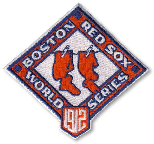 1912 Boston Red Sox MLB World Series Championship Jersey Patch