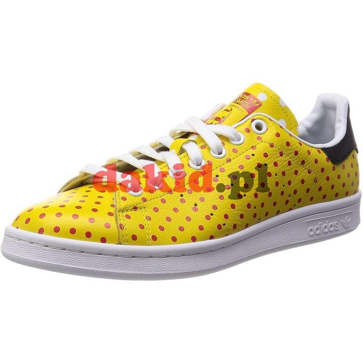 adidas Originals Pharrell Williams STAN SMITH SPD · nr kat.: B25402 · kolor: yellow/red/ftwwht