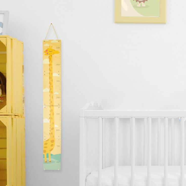 Toise girafe décoration chambre enfant