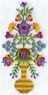 Machine Embroidery Designs at Embroidery Library! - Eastern European Folk Art