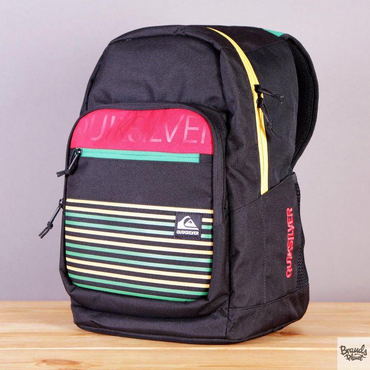 Plecak szkolny Quiksilver Schoolie Shamrock / www.brandsplanet.pl / #quiksilver backpack