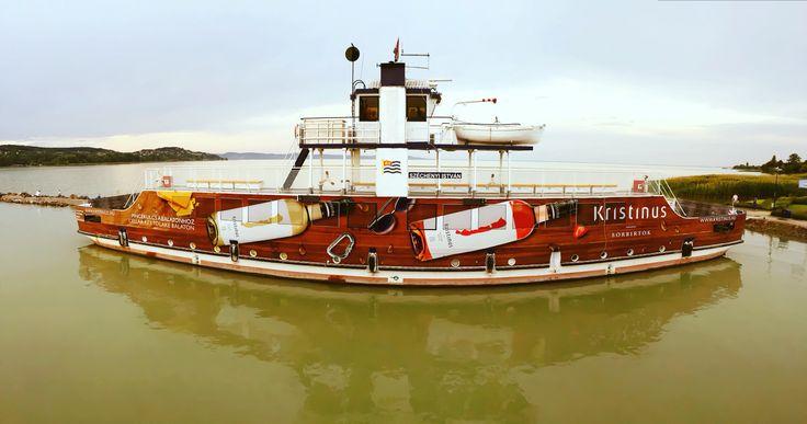 Ferry on Lake Balaton