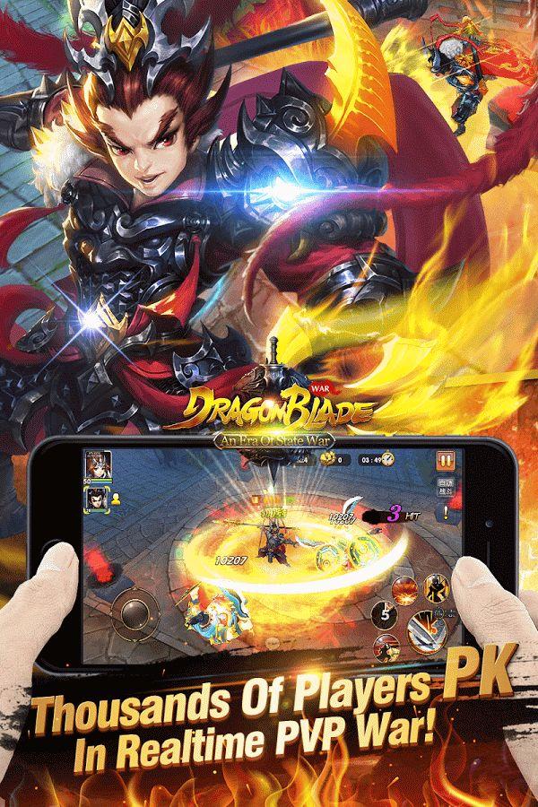 Dragon Blade New Version War v1.7.5.36 MOD APK GOD