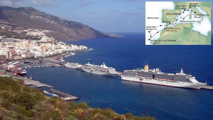 Цена на морской круиз по Средиземному морю в ноябре  6 стран, 12 ночей