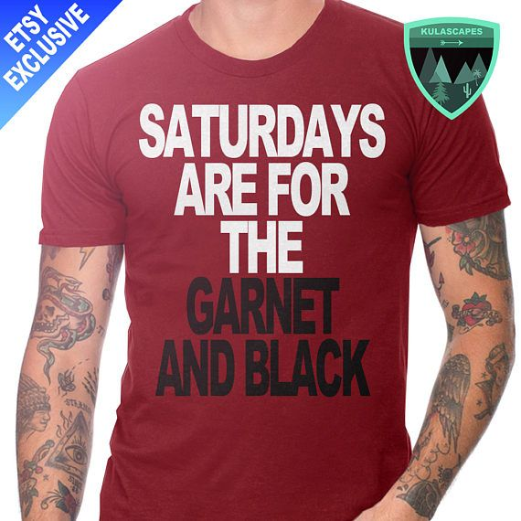 Official Saturdays are for the Garnet and Black Shirt, South Carolina Gamecocks Shirt, South Carolina Football, South Carolina Gift